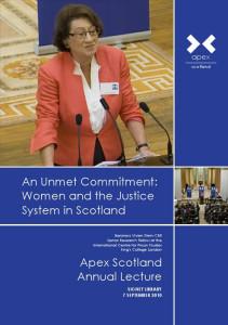 Apex ScotlandAnnualLecture2010
